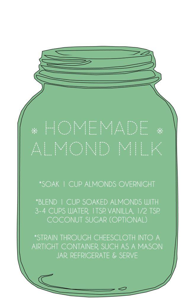 Foodie Friday: Homemade Almond Milk