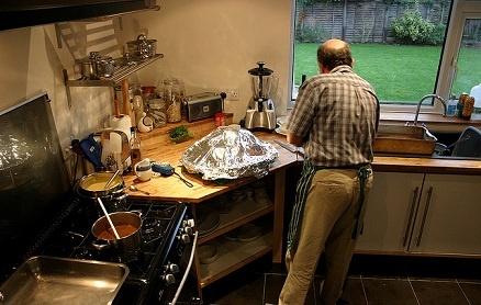Dead Man Found Standing In His Kitchen