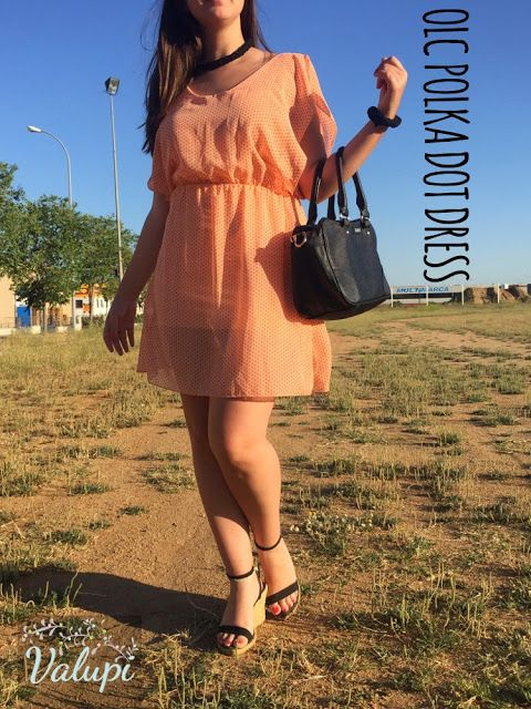 Valupi - Handmade with love: Outfit low cost: Polka dot dress