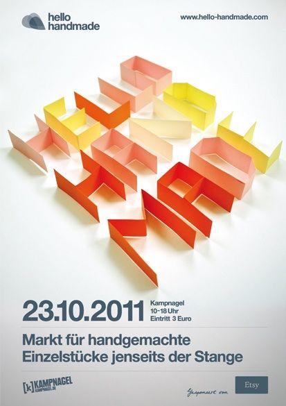 Poster / www.hello-handmade.com♥ Loved by www.miekinvorm.nl    illustration, handlettering + design