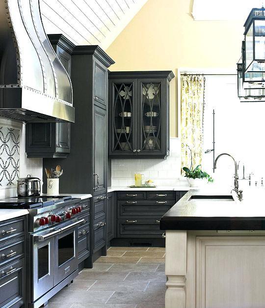 Charcoal Kitchen Cabinets Dark Gray Kitchen Cabinets Charcoal Grey