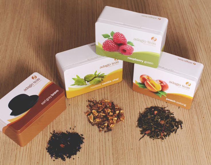 Nada más rico que un té en hebras. Regala Adagio Teas