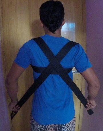 posture brace step 3