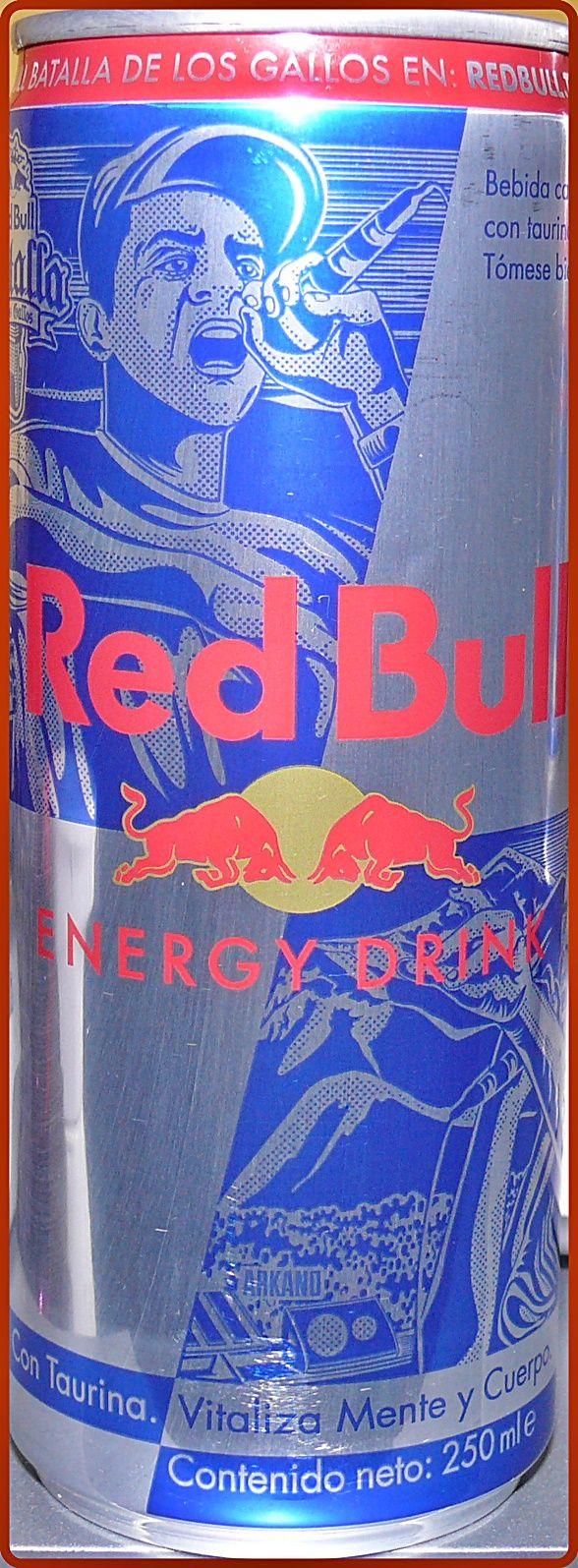 250ml Red Bull Batalla Del Los Gallos Edition from Peru