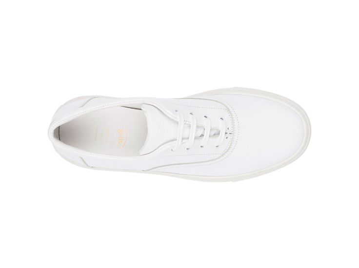 Balmoral 01 Leather White