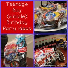 Teenage Boy Birthday Party Ideas