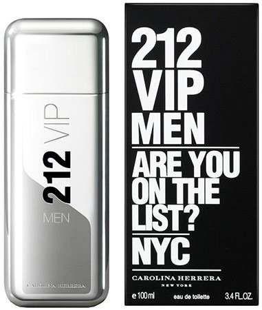212 Vip Men Carolina Herrera Edt Perfume Hombre 100ml