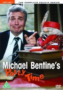 Michael Bentine's Potty Time (1973-1980).  Found this incredibly funny as a child.  Still remember the story of the ghostly nun jumping out the window.