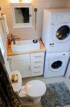 Payette 28' Tiny House For Sale by TruForm Tiny #bathroomideas