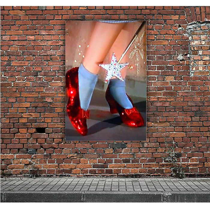 RUBY SLIPPERS ARTWORK POSTERS