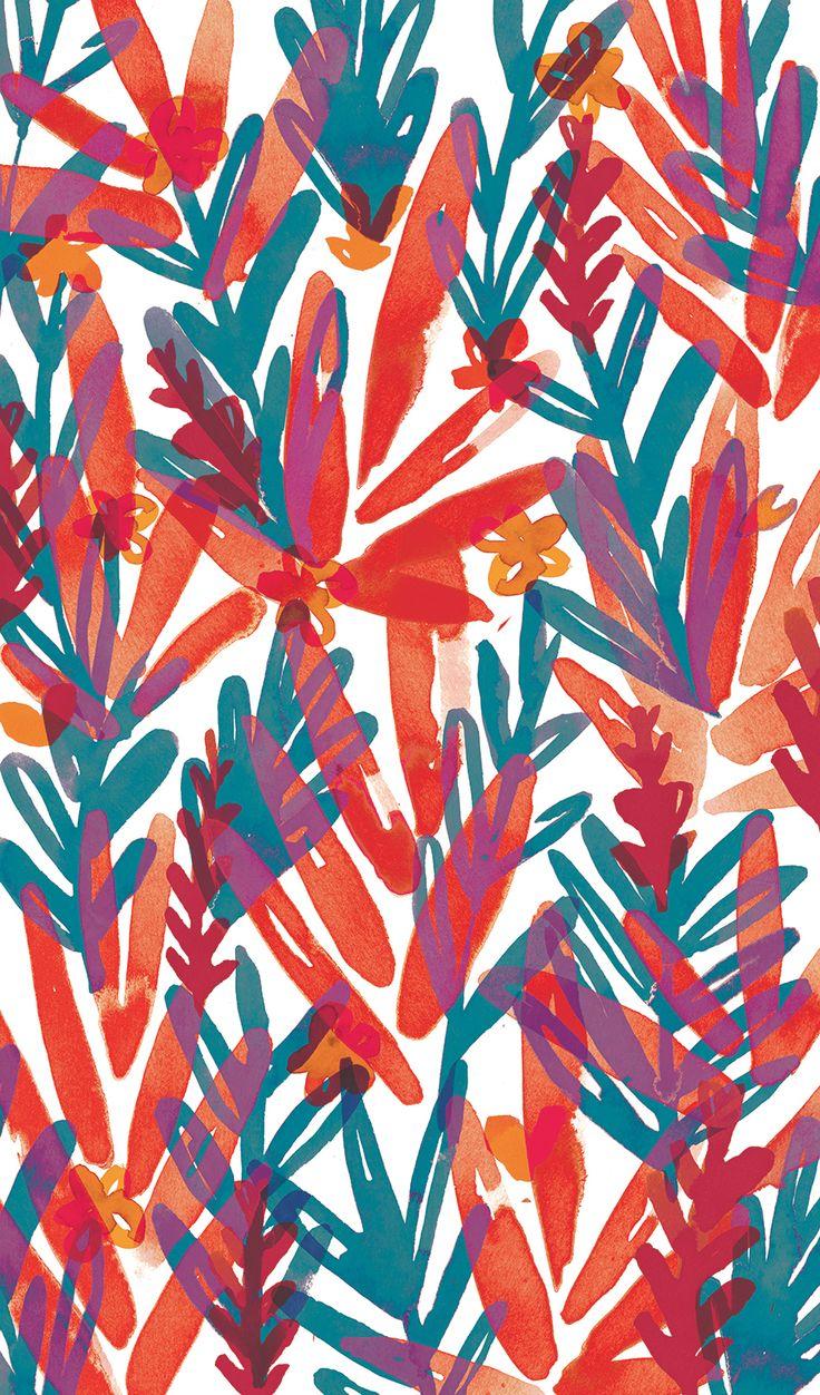 sarah edith | Ecoline textile series on Behance