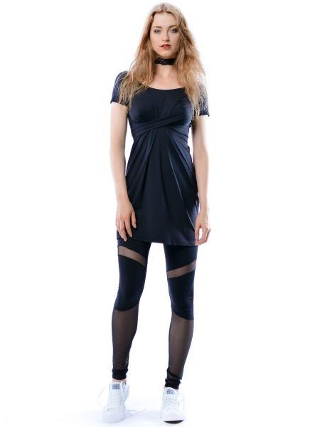 Cristina Mini Hypnotic Black Summer - czarna sukienka