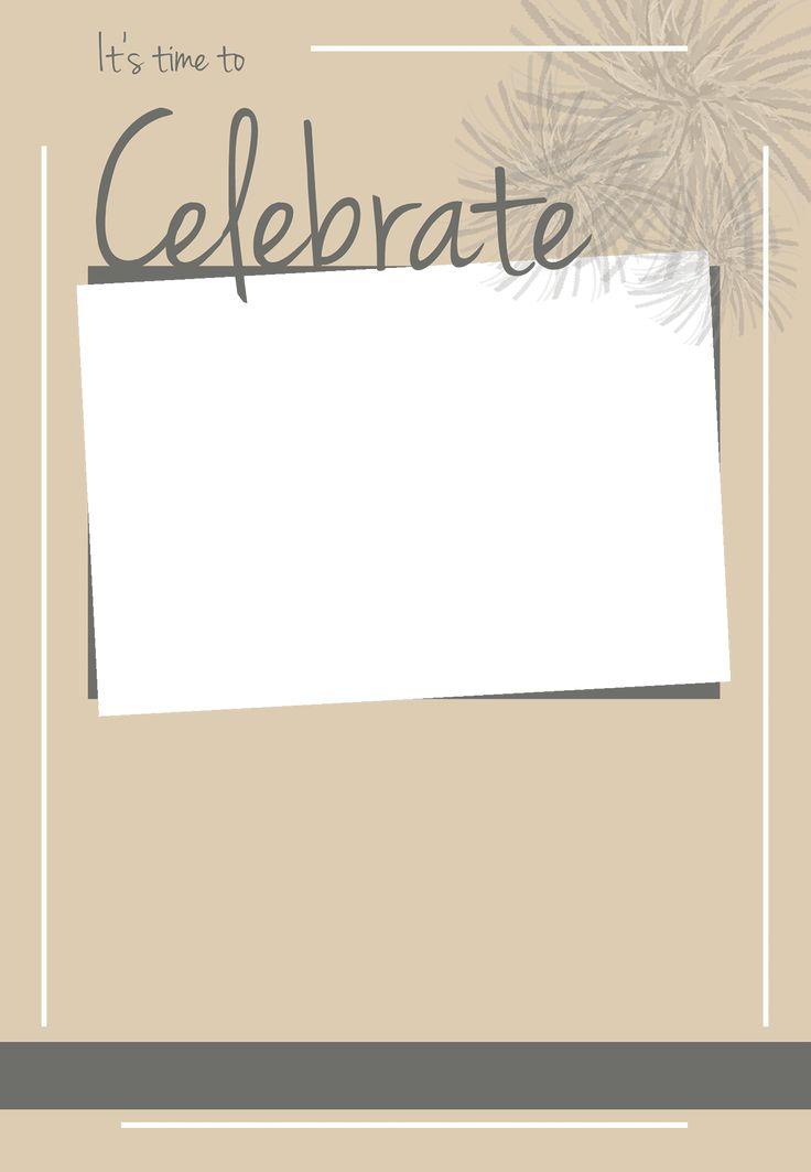 Mer enn 25 bra ideer om Gratis invitasjonsmaler p Pinterest – Free Printable Engagement Party Invitations