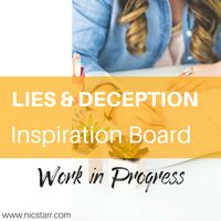 This is the inspiration board for Lies & Deception by Nic Starr #gayromance #mmromance. This story is a work in progress.