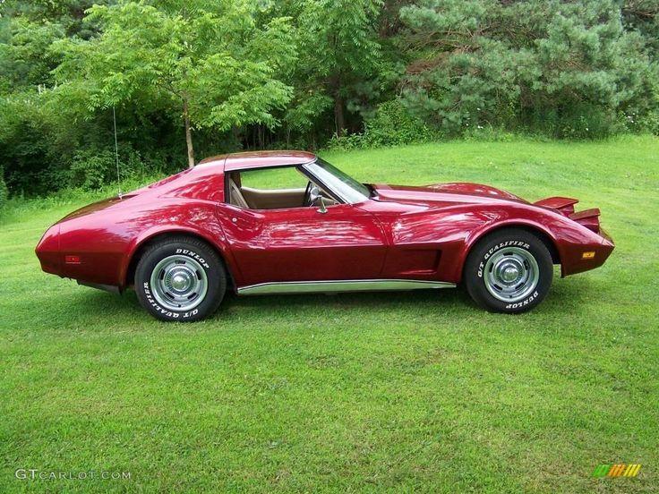 1974 Corvette Stingray Coupe - Medium Red Metallic / Neutral Beige photo #4