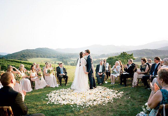 Romantic Virginia Mountain Wedding | Eric Kelley | blog.theknot.com