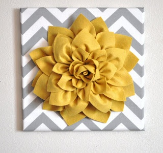 Taylor & Landon: 3D Felt Flower Art - Tutorial
