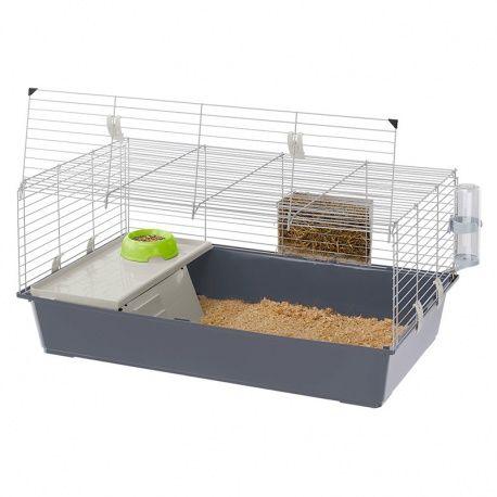 Cage Ferplast Rabbit 100 / http://www.animaux-market.com/cage-transport-lapin-210