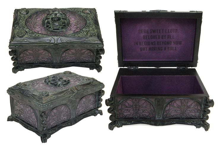 Haunted Mansion music box available at Disney Parks - great as a gift box for the reception