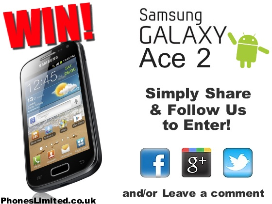 March #Competition - #WIN a Samsung Galaxy Ace 2 #RT
