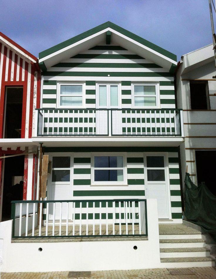 Gaape - Arquitectura, Planeamento e Engenharia: Remodelação de habitação típica - Costa Nova do Pr...