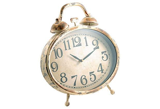 Rustic Alarm Clock on OneKingsLane.com