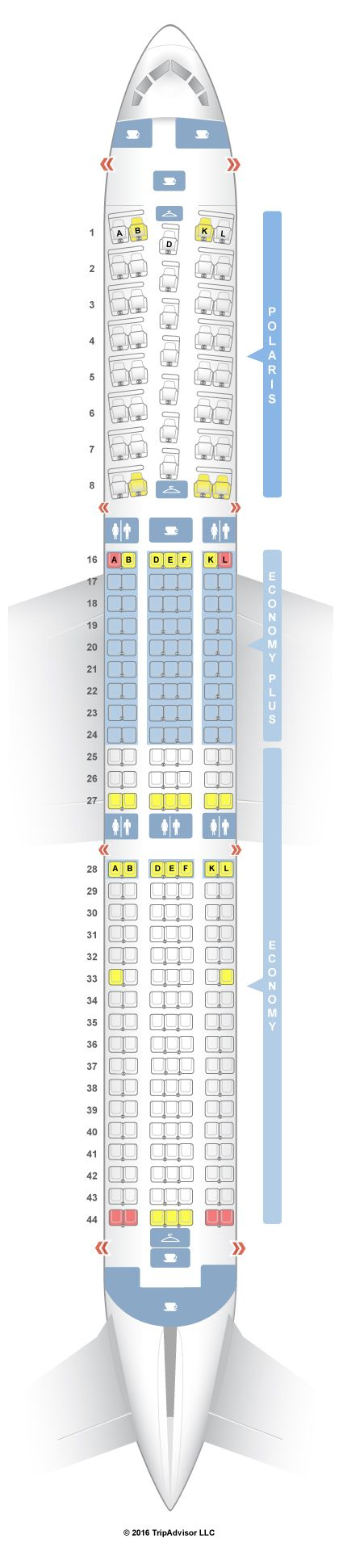 SeatGuru Seat Map United Boeing 767-400ER (764) Intl - SeatGuru