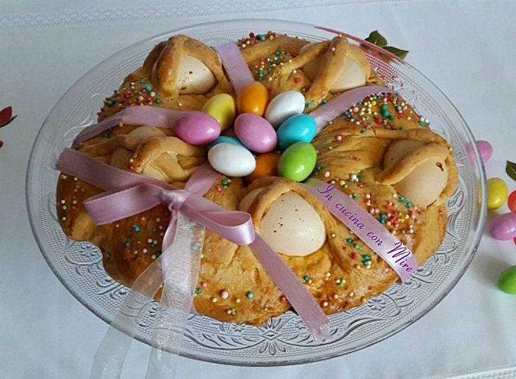 Treccia Pasquale - dolci per Pasqua-ricetta calabrese | In cucina con Mire