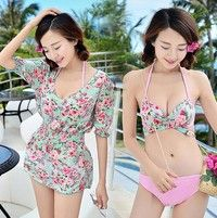 Size: M,L,XL Material: Polyester Color:one color Neckline: Halter Package Including:1 * Swimsuit+1*F