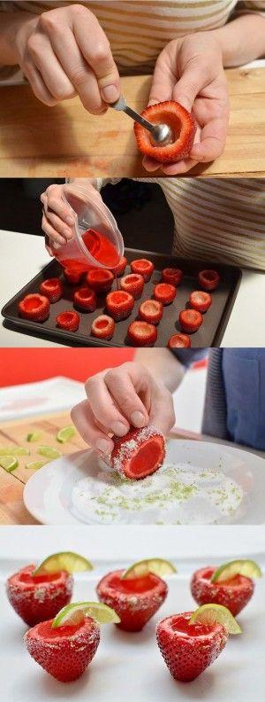 10 Shots de gelatina que animarán cualquier FIESTA