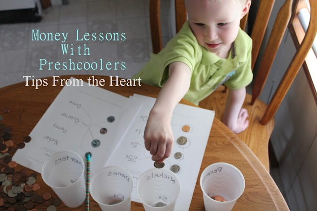 Home Preschool: Money Lesson 1