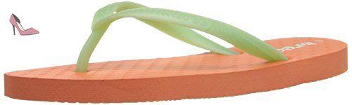 Reef Little Chakras, Tongs Fille, de plusieurs Couleurs (Corail / Vert Menthe (Coral / Mint), 32 EU - Chaussures reef (*Partner-Link)