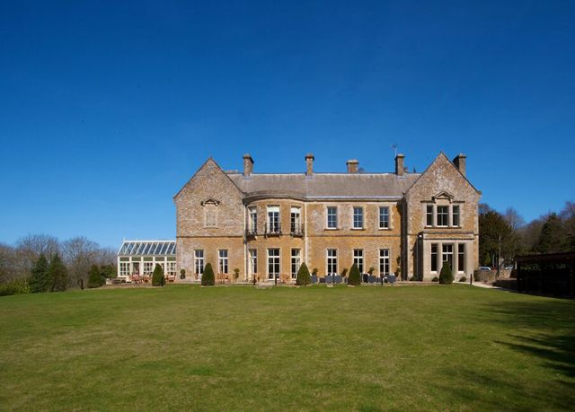 A stunning Cotswolds hotel and spa with ornate interiors - breakfast, three-course dinner and a spa treatment included