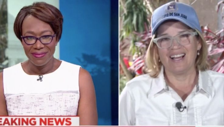 San Juan Mayor Laughs At Trump's Twitter Attacks And Says She Is Too Busy Saving Lives To Care