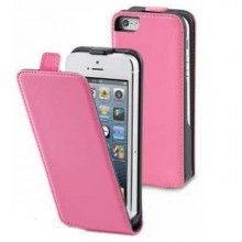 Funda iPhone 5C Muvit - Slim Rosa con Protector Pantalla  € 13,99