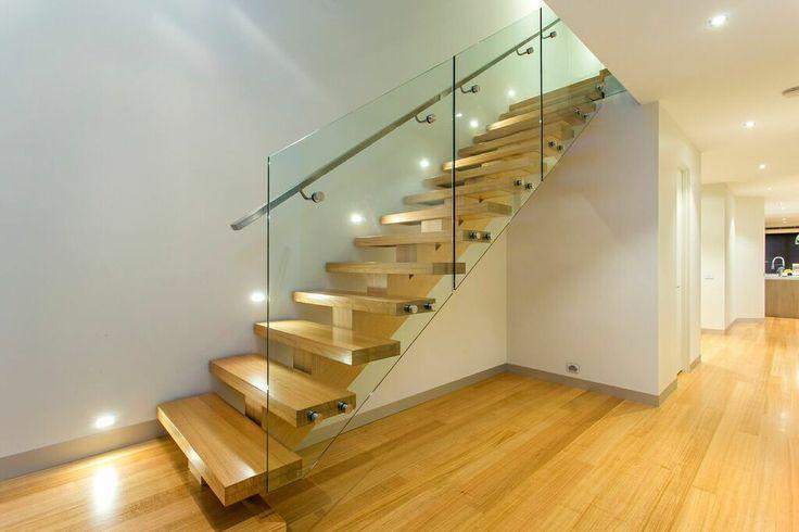 Stunning custom built staircase.