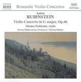 Anton Rubinstein: Violin Concerto in G major [CD]