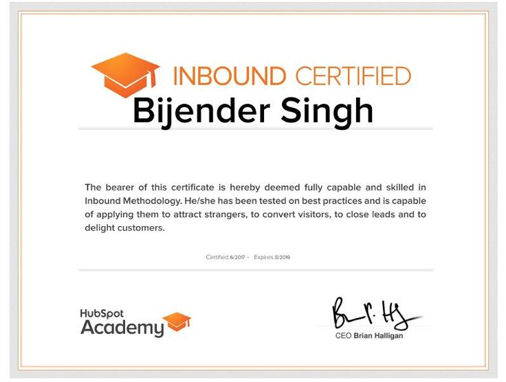 #digital #digitalmarketing #certificate #inboundmarketing #inbound #hubspot #seomarketing #seo #sem #bijenderdigital