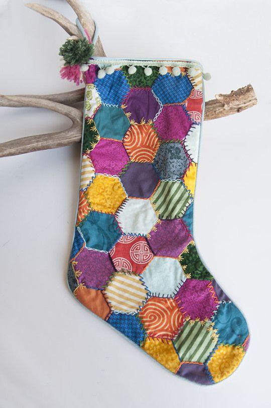 mad mim deck the halls diy christmas stocking03 Deck the Halls // Tinys Handmade Christmas Stocking
