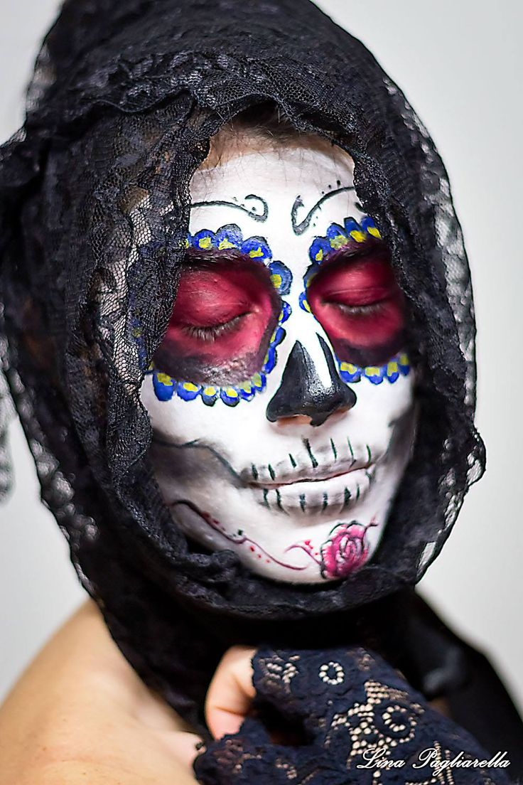 SANTA MUERTE  MAKE UP BY ME Giuliana Make up