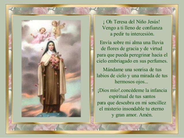 lluvia de rosas santa teresita del niño jesus - Buscar con ...