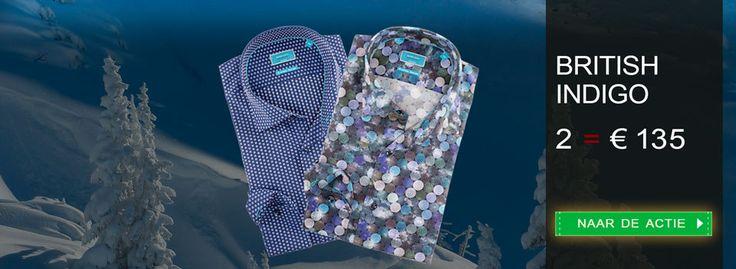 Cool: Italiaanse #overhemden van British Indigo. Profiteer nu van onze januari #aanbieding: https://www.shirtsupplier.nl/nl/voordeelpacks/filter/pack/32 #shirts #BritishIndigo
