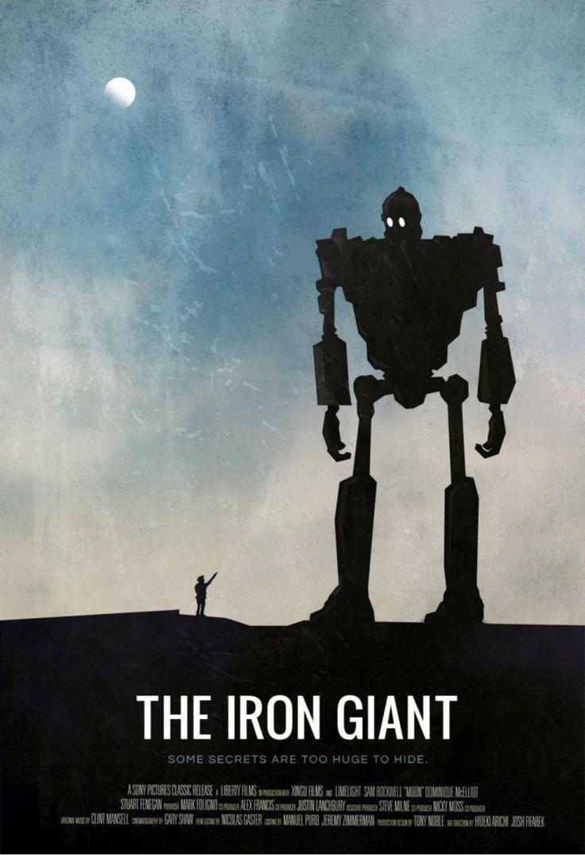 Постер к фильму «The Iron Giant / Стальной гигант (1999)» смотреть онлайн