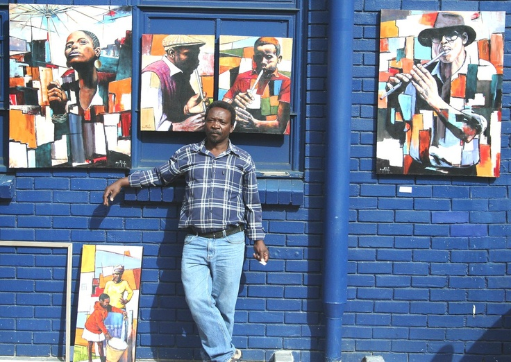 It is with sheer delight that Boyi Molefe joins Stribal's growing list of Artists.    Stribal loves getting wonderful Artists like Boyi online so the entire world can appreciate his incredible talent and art.