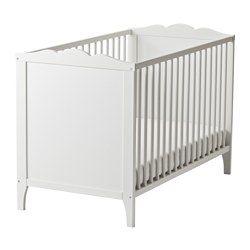 IKEA - HENSVIK, Babybedje, , Bedbodem op 2 hoogtes te monteren.Je kind kan veilig en comfortabel slapen omdat de slijtvaste materialen in de bedbodem zijn getest om het lichaam de juiste ondersteuning te geven.Bedbodem met goede ventilatie en goede luchtcirculatie, voor een comfortabel slaapklimaat voor je kind.