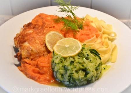 Es war einmal…das Kochduell mit Frank Buchholz -  Piccata vom Putenschnitzel mit Parmesan-Ei-Hülle