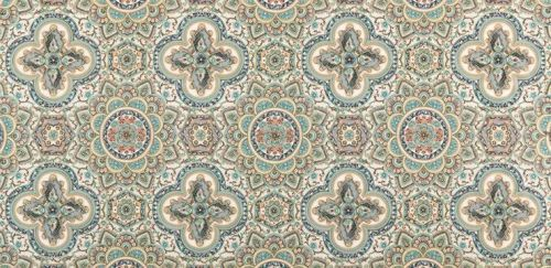 SRKM-17055-200 1 Villa Geometric Floral Multi