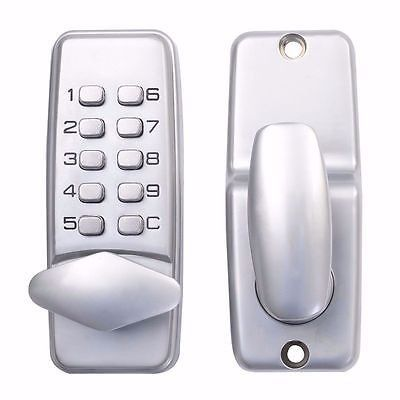 Mechanical Door Lock Keypad Deadbolt Password Keyless Entry Security System Check This Awesome Product By Going To The Link At Bluetooth Padlock Entry