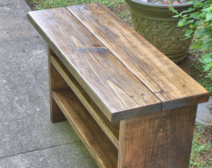 Tall Rustic Bench Entryway Hallway Mudroom Storage Bench Shoe Bench 36 Inch Muebles De Pales Sillas Quinchos