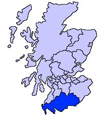Dumfries/Galloway in the Lowlands. Where Sorbie Tower is located. Ancestral home of the Hanna clan.